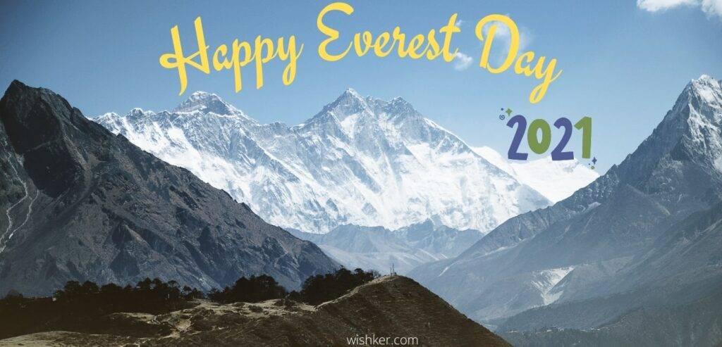 Happy Everest Day 2021